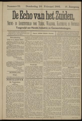 Echo van het Zuiden 1881-02-10