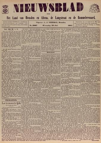 Nieuwsblad het land van Heusden en Altena de Langstraat en de Bommelerwaard 1911-07-19