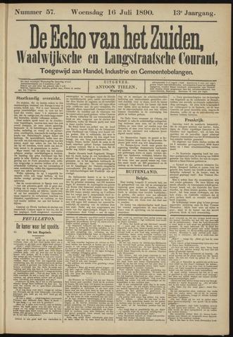 Echo van het Zuiden 1890-07-16