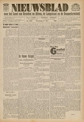 Nieuwsblad het land van Heusden en Altena de Langstraat en de Bommelerwaard 1936-05-27