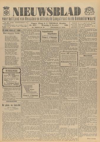 Nieuwsblad het land van Heusden en Altena de Langstraat en de Bommelerwaard 1930-12-03