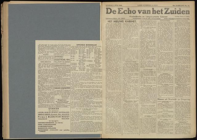 Echo van het Zuiden 1946-07-09