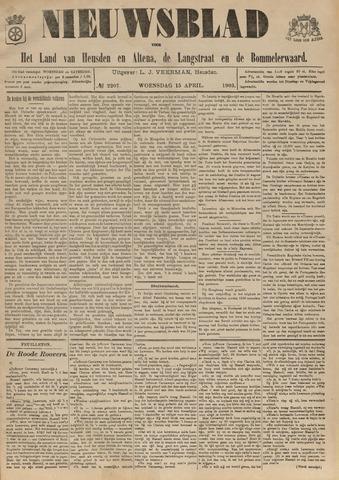 Nieuwsblad het land van Heusden en Altena de Langstraat en de Bommelerwaard 1903-04-15
