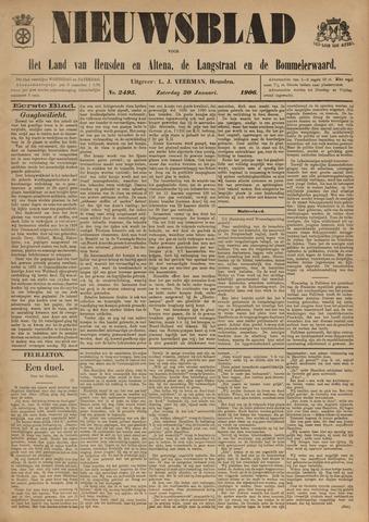 Nieuwsblad het land van Heusden en Altena de Langstraat en de Bommelerwaard 1906-01-20