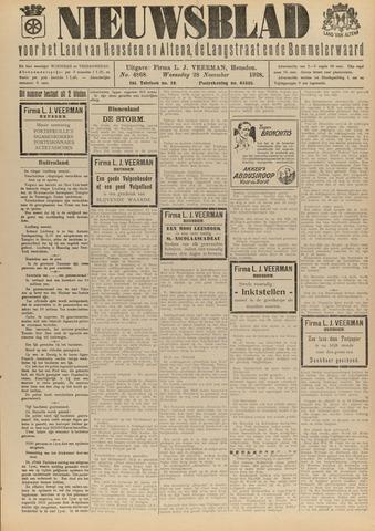 Nieuwsblad het land van Heusden en Altena de Langstraat en de Bommelerwaard 1928-11-28