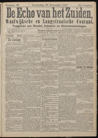 Echo van het Zuiden 1915-11-28