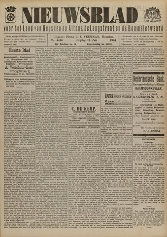 Nieuwsblad het land van Heusden en Altena de Langstraat en de Bommelerwaard 1924-07-18