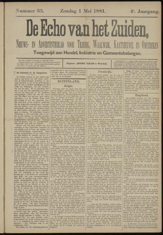 Echo van het Zuiden 1881-05-01