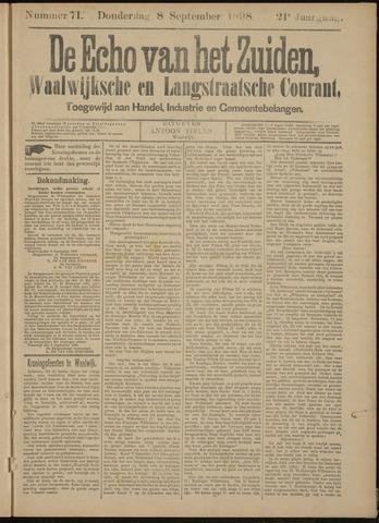 Echo van het Zuiden 1898-09-08