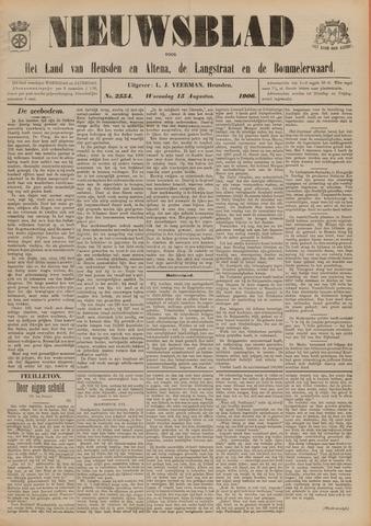 Nieuwsblad het land van Heusden en Altena de Langstraat en de Bommelerwaard 1906-08-15