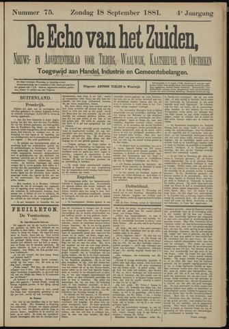 Echo van het Zuiden 1881-09-18