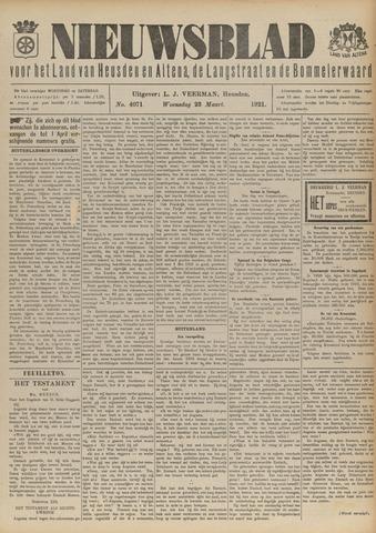Nieuwsblad het land van Heusden en Altena de Langstraat en de Bommelerwaard 1921-03-23