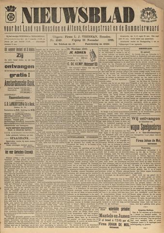 Nieuwsblad het land van Heusden en Altena de Langstraat en de Bommelerwaard 1923-11-23