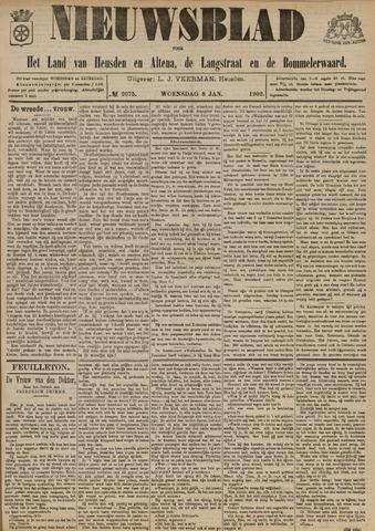Nieuwsblad het land van Heusden en Altena de Langstraat en de Bommelerwaard 1902-01-08