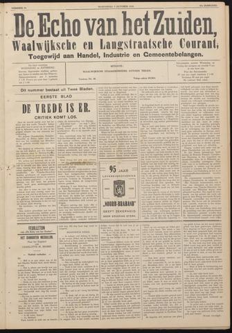 Echo van het Zuiden 1938-10-05