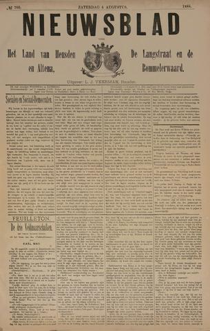 Nieuwsblad het land van Heusden en Altena de Langstraat en de Bommelerwaard 1888-08-04