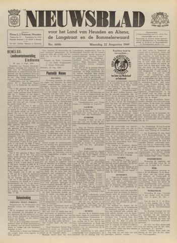Nieuwsblad het land van Heusden en Altena de Langstraat en de Bommelerwaard 1949-08-22