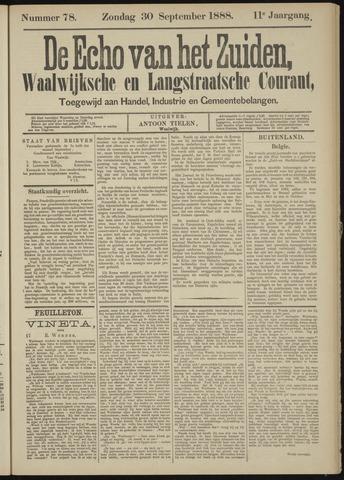 Echo van het Zuiden 1888-09-30
