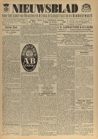 Nieuwsblad het land van Heusden en Altena de Langstraat en de Bommelerwaard 1927-10-14