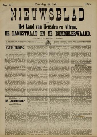 Nieuwsblad het land van Heusden en Altena de Langstraat en de Bommelerwaard 1883-07-28