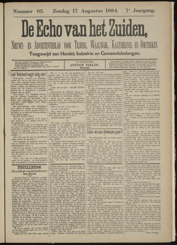 Echo van het Zuiden 1884-08-17