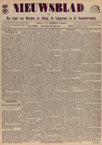 Nieuwsblad het land van Heusden en Altena de Langstraat en de Bommelerwaard 1911-08-16