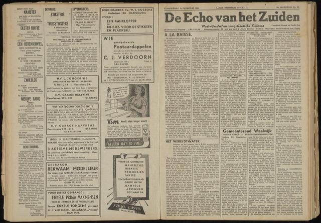 Echo van het Zuiden 1948-02-26