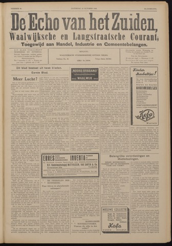 Echo van het Zuiden 1940-10-26
