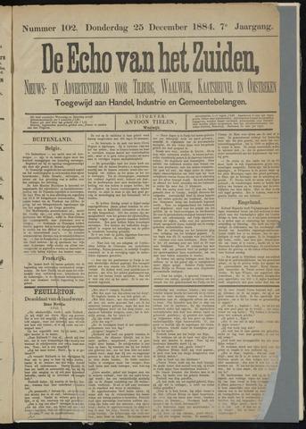 Echo van het Zuiden 1884-12-25