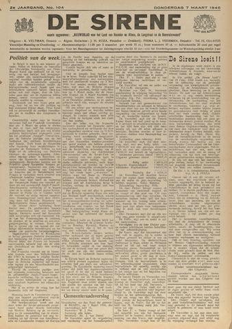 De Sirene 1946-03-07
