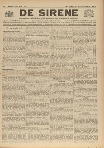 De Sirene 1945-11-30