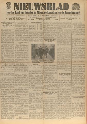 Nieuwsblad het land van Heusden en Altena de Langstraat en de Bommelerwaard 1943-03-05