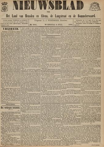 Nieuwsblad het land van Heusden en Altena de Langstraat en de Bommelerwaard 1902-07-02