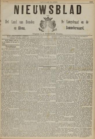 Nieuwsblad het land van Heusden en Altena de Langstraat en de Bommelerwaard 1891-04-18