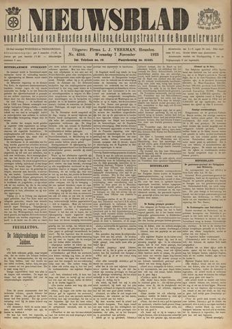 Nieuwsblad het land van Heusden en Altena de Langstraat en de Bommelerwaard 1923-11-07