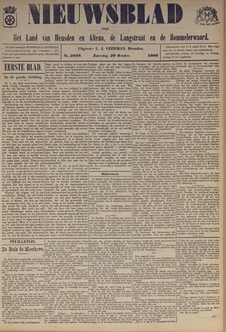 Nieuwsblad het land van Heusden en Altena de Langstraat en de Bommelerwaard 1909-10-30