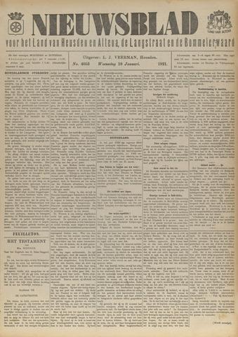 Nieuwsblad het land van Heusden en Altena de Langstraat en de Bommelerwaard 1921-01-19