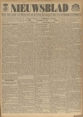 Nieuwsblad het land van Heusden en Altena de Langstraat en de Bommelerwaard 1924-05-21
