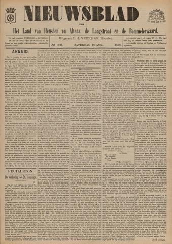Nieuwsblad het land van Heusden en Altena de Langstraat en de Bommelerwaard 1899-08-19