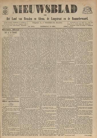 Nieuwsblad het land van Heusden en Altena de Langstraat en de Bommelerwaard 1903-12-05