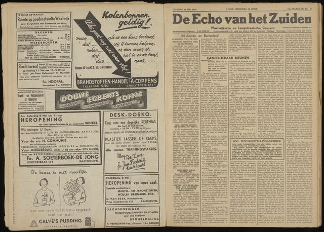 Echo van het Zuiden 1948-05-11