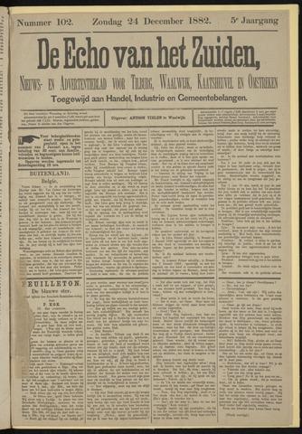 Echo van het Zuiden 1882-12-24