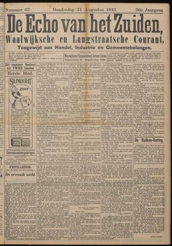 Echo van het Zuiden 1913-08-21