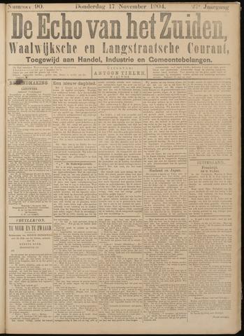 Echo van het Zuiden 1904-11-17