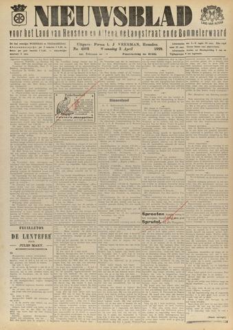 Nieuwsblad het land van Heusden en Altena de Langstraat en de Bommelerwaard 1929-04-03