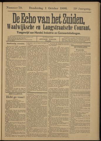 Echo van het Zuiden 1896-10-01