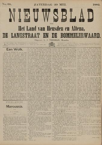 Nieuwsblad het land van Heusden en Altena de Langstraat en de Bommelerwaard 1882-05-20