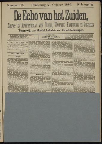 Echo van het Zuiden 1886-10-21