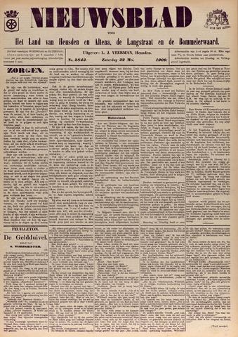 Nieuwsblad het land van Heusden en Altena de Langstraat en de Bommelerwaard 1909-05-22