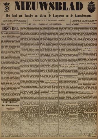 Nieuwsblad het land van Heusden en Altena de Langstraat en de Bommelerwaard 1893-11-18